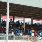 Crowd at Uyo Township Stadium