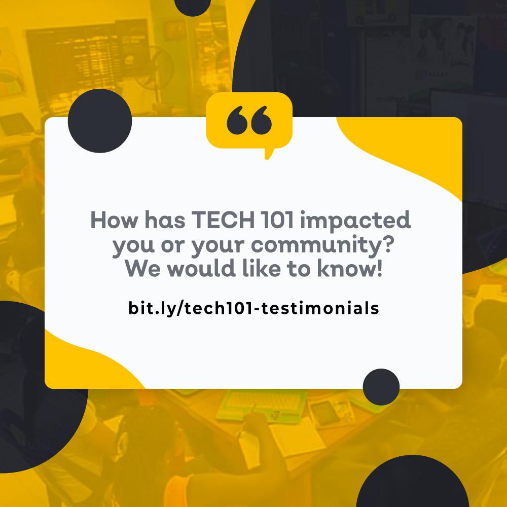 tech 101 testimonial