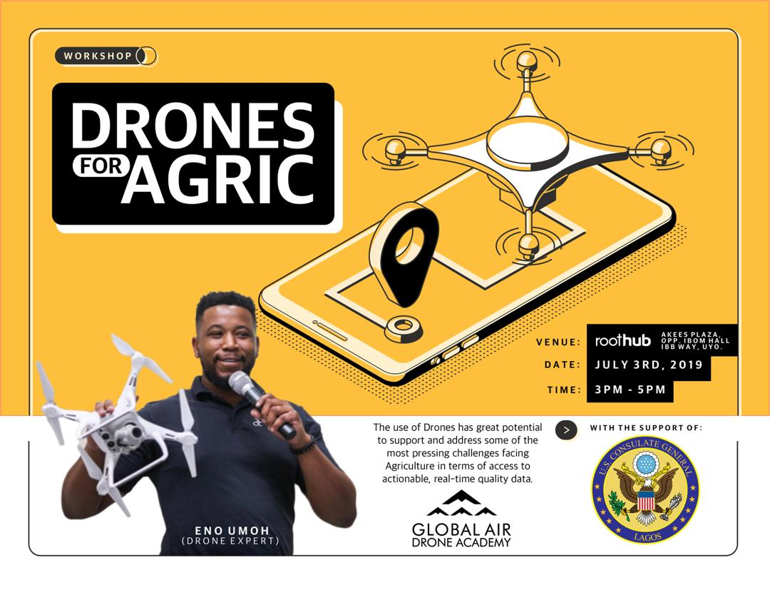 drones for agric