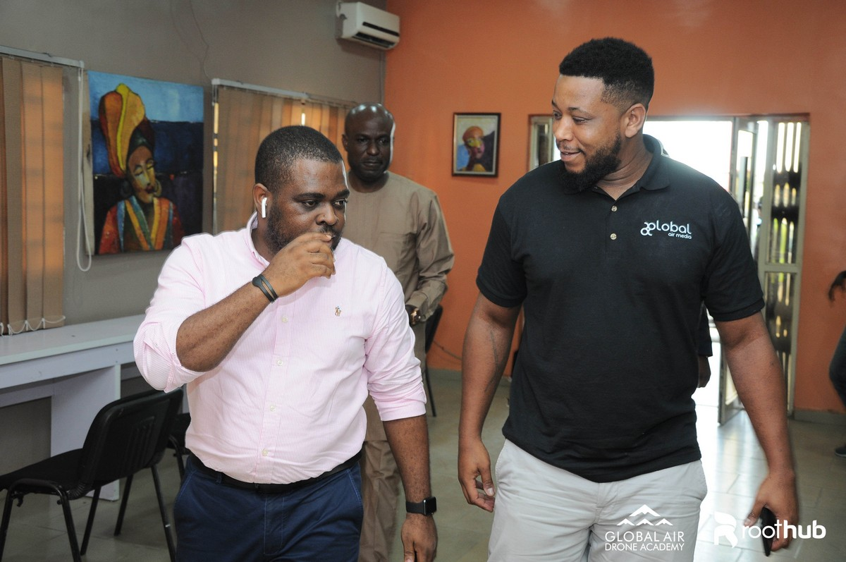 Tony Onuk and Eno Umoh at The Roothub