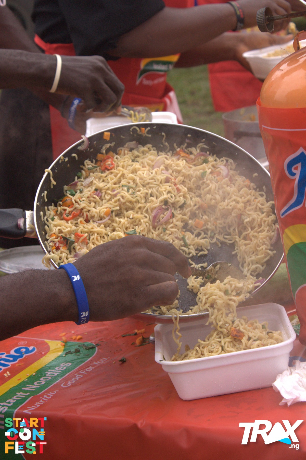 Indomie Cooking Competition at StartConFest 2019
