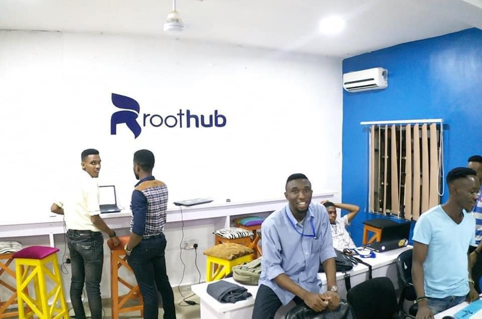 A day at the Roothub Uyo, Port Harcourt PH. Celebrating Roothub's 6th anniversary