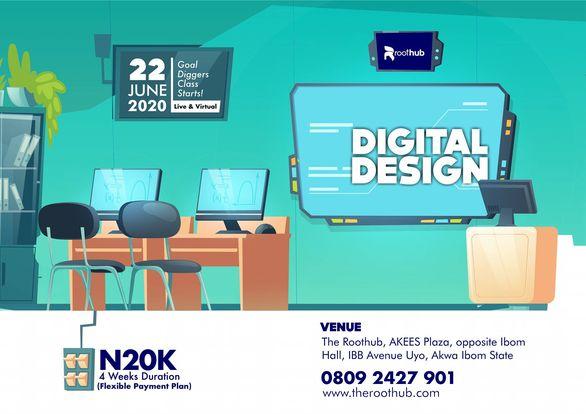 digital design flyer