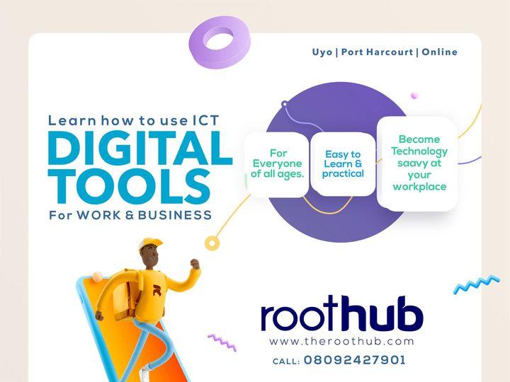 digital tools flyer